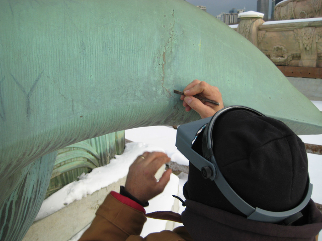 Chicago's Buckingham Fountain, Fountain Repair