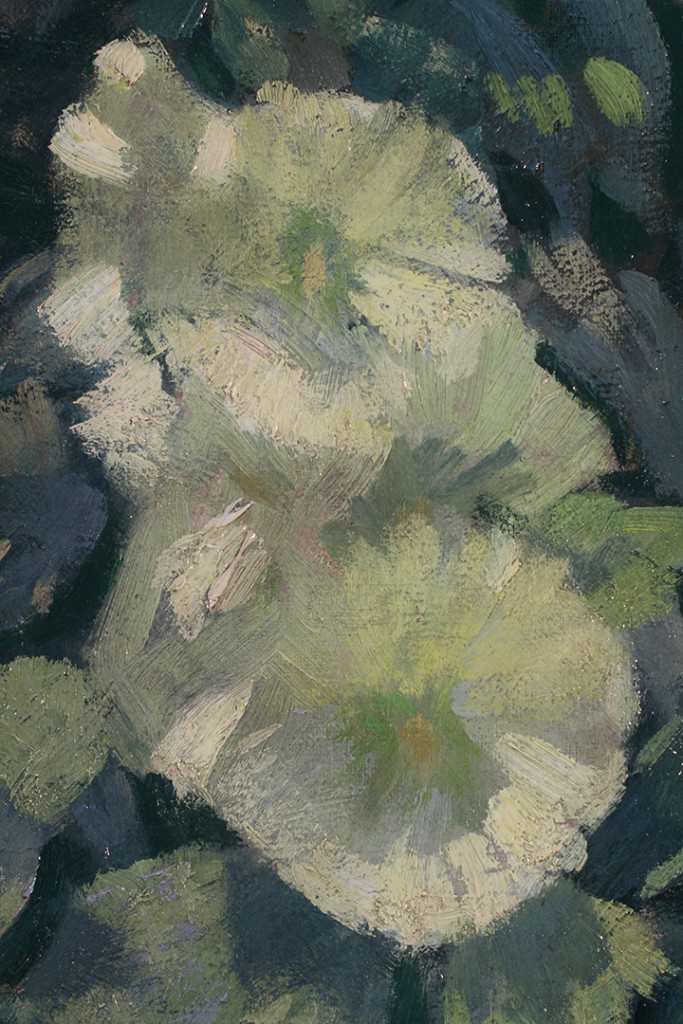 Hollyhocks, Butler Institute of American Art