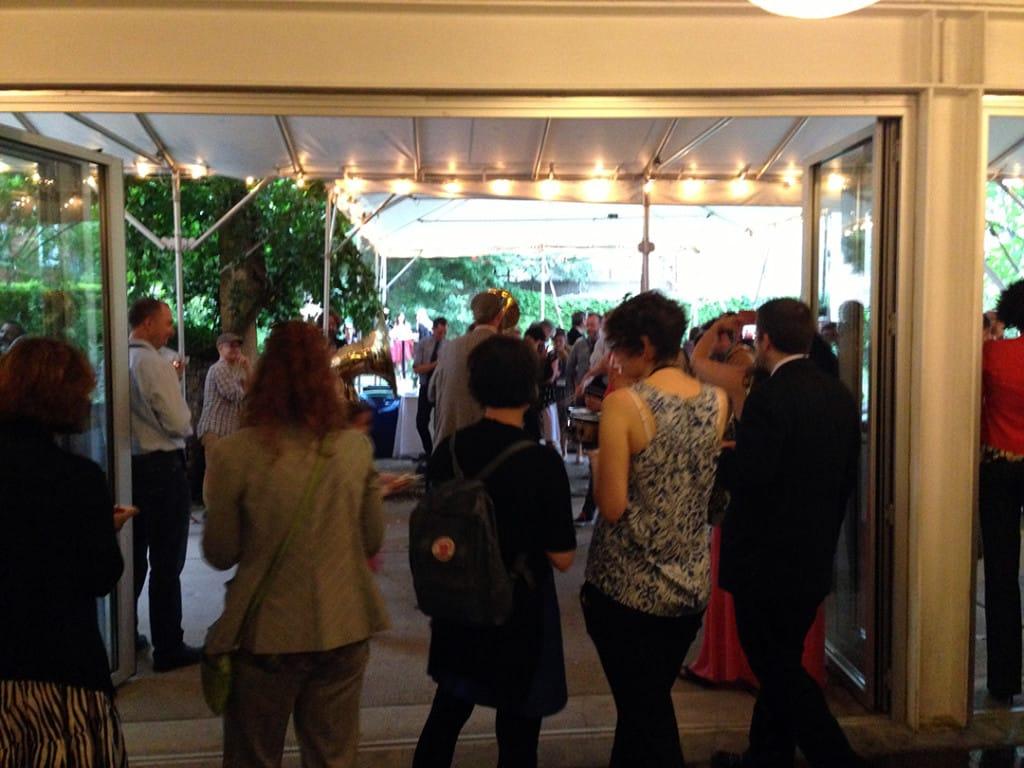 Hosting ISC Reception