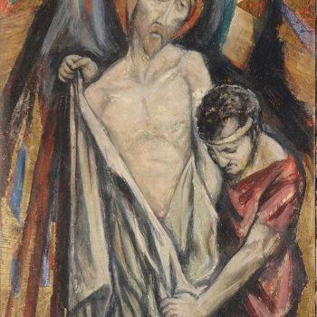 2014 Restoration Of Albrizio Frescoes – Services Donated