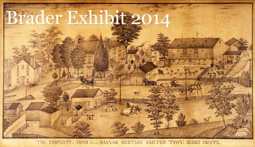 Brader Exhibition Website