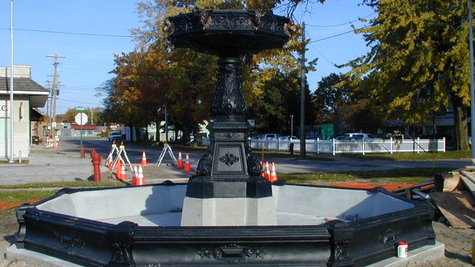 Kearney Park Fountain