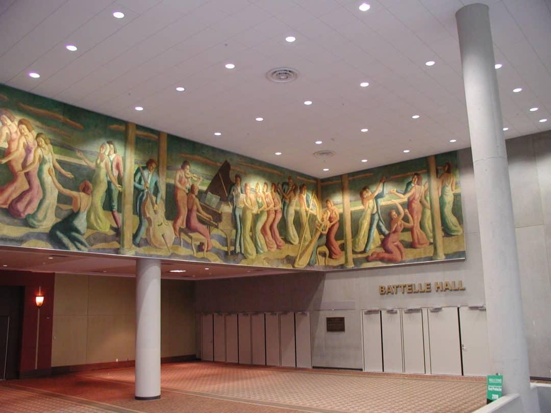 Emerson Burkhart Mural