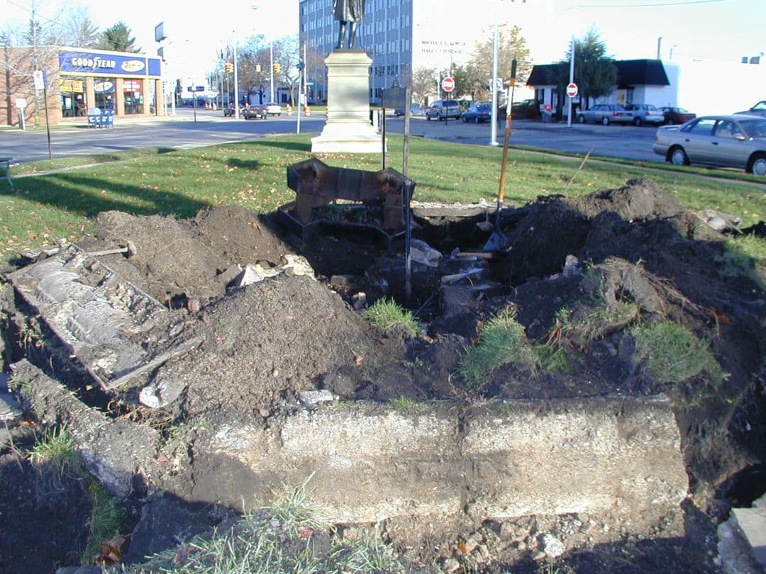 Art Conservation Cleveland Cast Iron Fountain