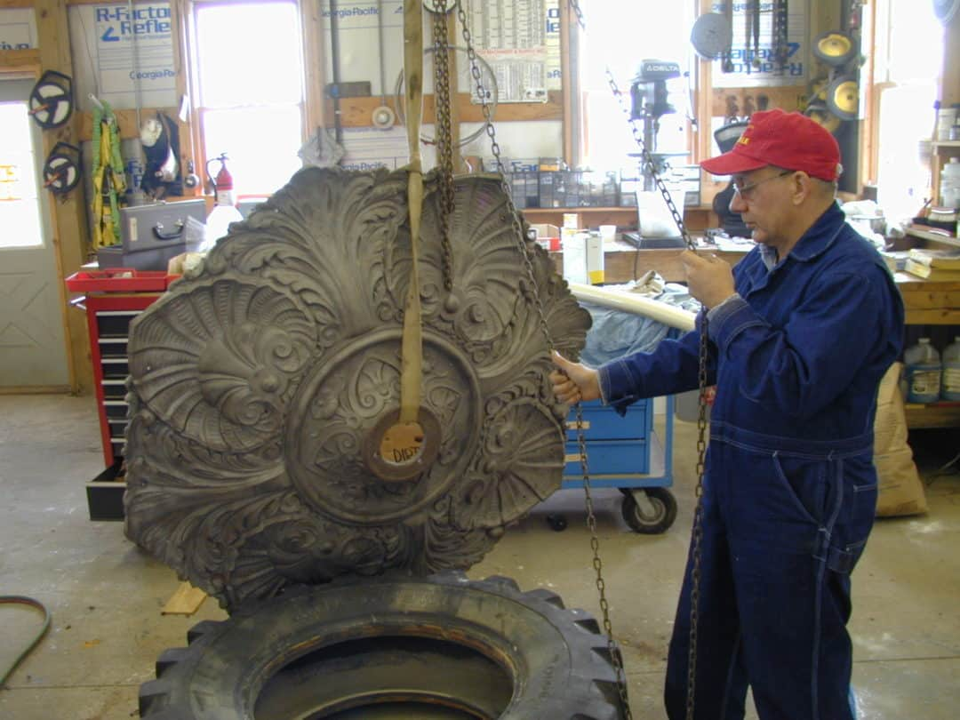 Art Conservation Cleveland Cast Iron Fountain