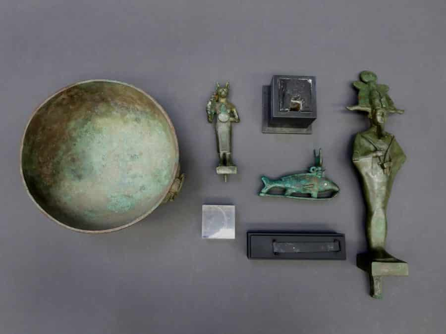 Conservation Treatment Of Egyptian Bronze Artifacts