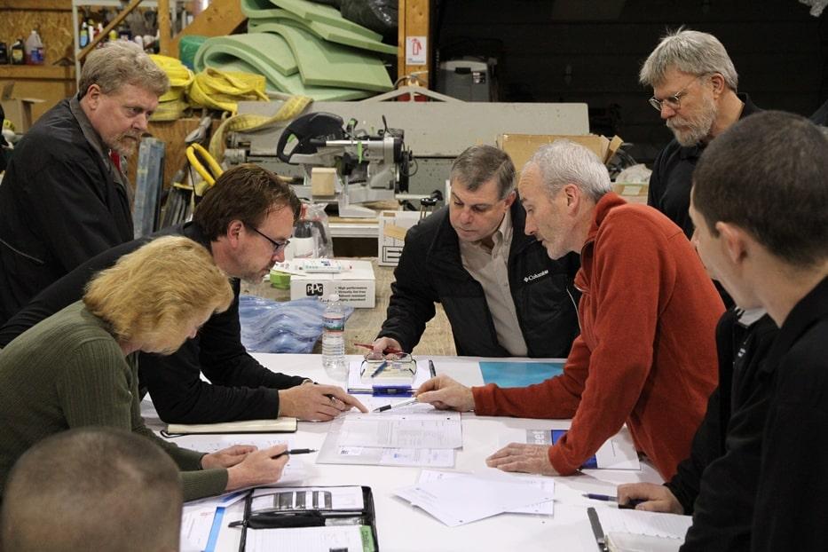 McKay Lodge Conservation: PPG team plan conservation strategy for Luis Jimenez sculpture