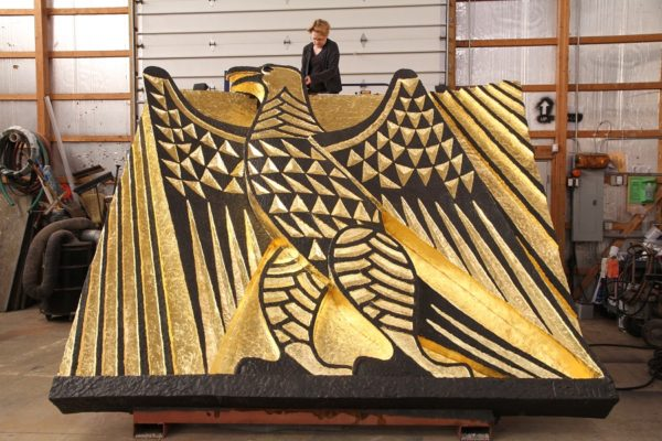 Gilding, Iselin's EAGLE