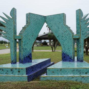 Outdoor Sculpture Maintenance In Brownsville, Texas