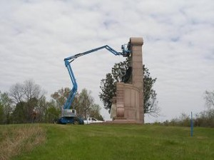 Conservation of the Monuments at Vicksburg Mississippi