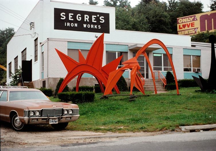 Exclusive Early Images Of Calder Outdoor Painted Sculpture