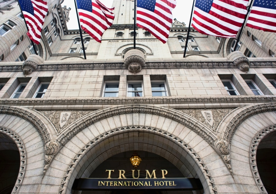 The Old Post Office Pavilion is now Trump International Hotel Washington DC