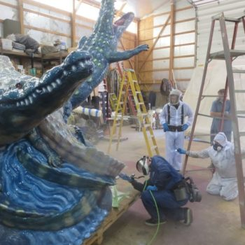 Cleveland PPG Supporting Conservation Of Painted Outdoor Sculpture By Luis A. Jimenez