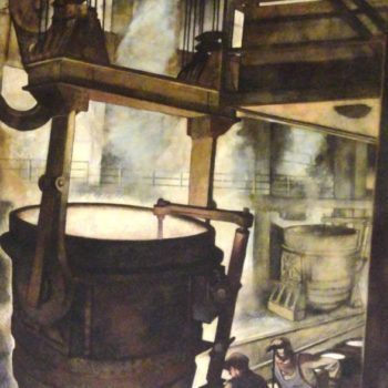 Canton Ohio's Important Steel Industry Murals Conservation