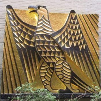 Whitney Museum Of Art's Original Emblem – Its Sculpture Conservation
