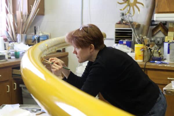 Gilding, Sculpture Conservation