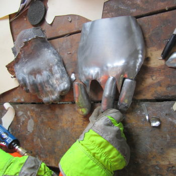 We Got Your Toes: Revisiting The Restoration Of A Zinc Sculpture