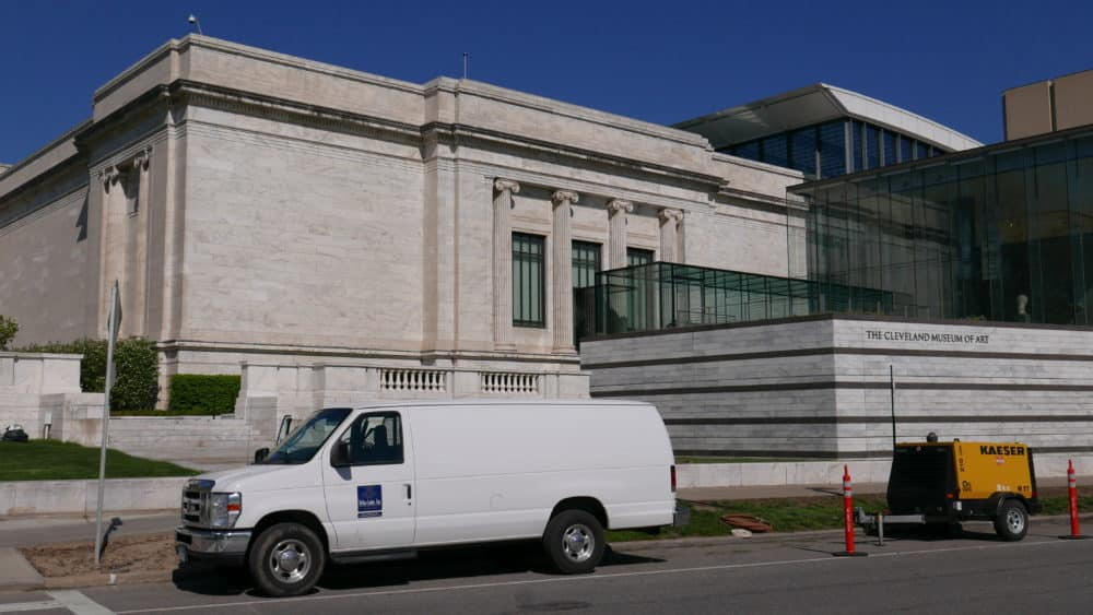 Stone Conservation Treatment At Cleveland Museum Of Art
