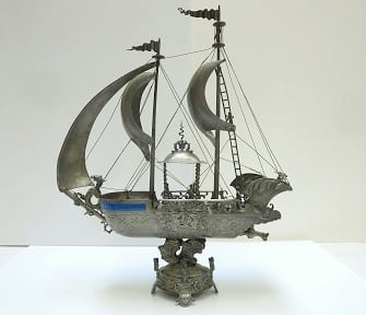 Shipping A Ship: Archival Storage Of A Pewter Ship Decanter