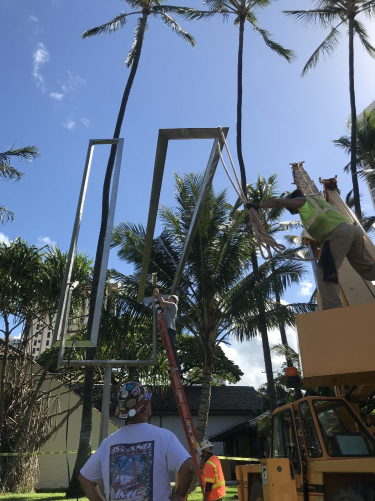 Moving A Moving Sculpture: Conservation Treatment And Relocation Of A George Rickey Sculpture In Hawaii