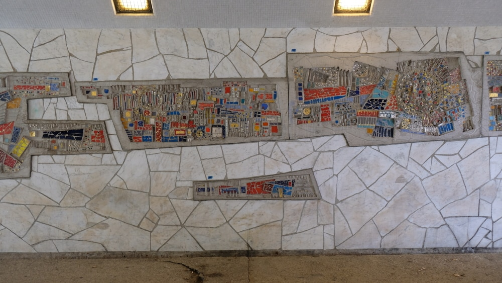Saving A Mosaic Mural By Virgil Cantini In Pittsburgh, Can We Do It?