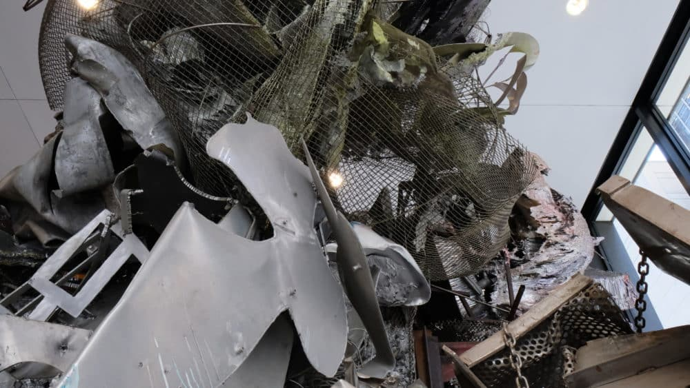 Sculpture Maintenance In Chicago Of The Town-Ho's Story By Frank Stella