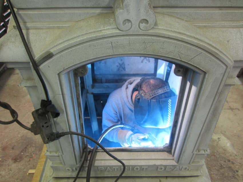 Conservation Of A Zinc Monument: A Grand Army Of The Republic Memorial