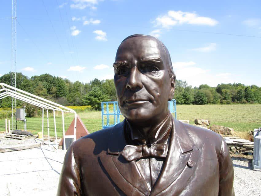 Presidential Treatment: Repatination Of Bronze Sculpture William McKinley