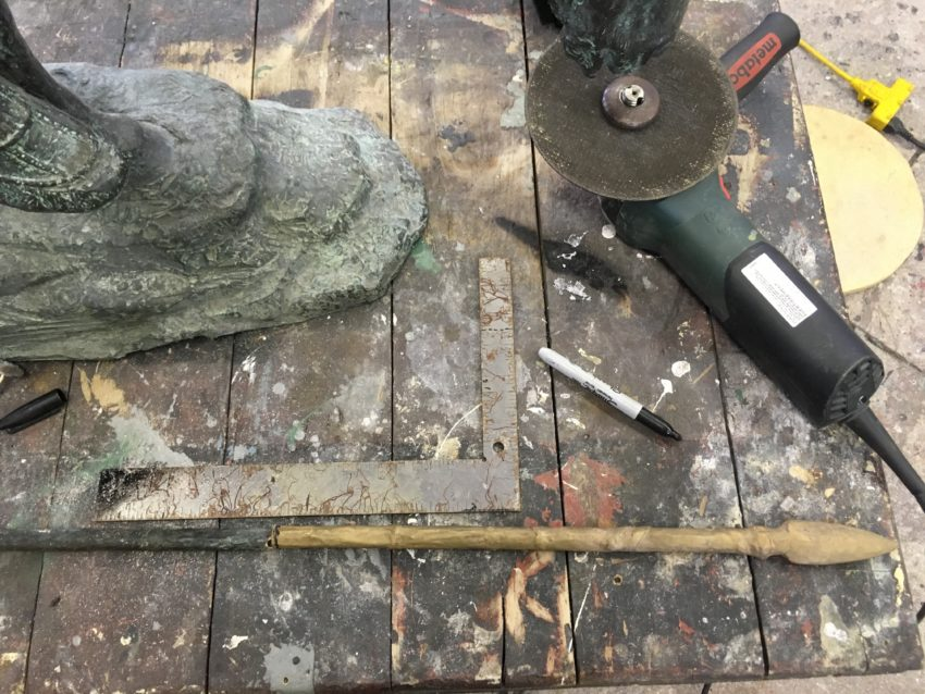 Conservation Treatment Of End Of The Trail By James Earle Fraser