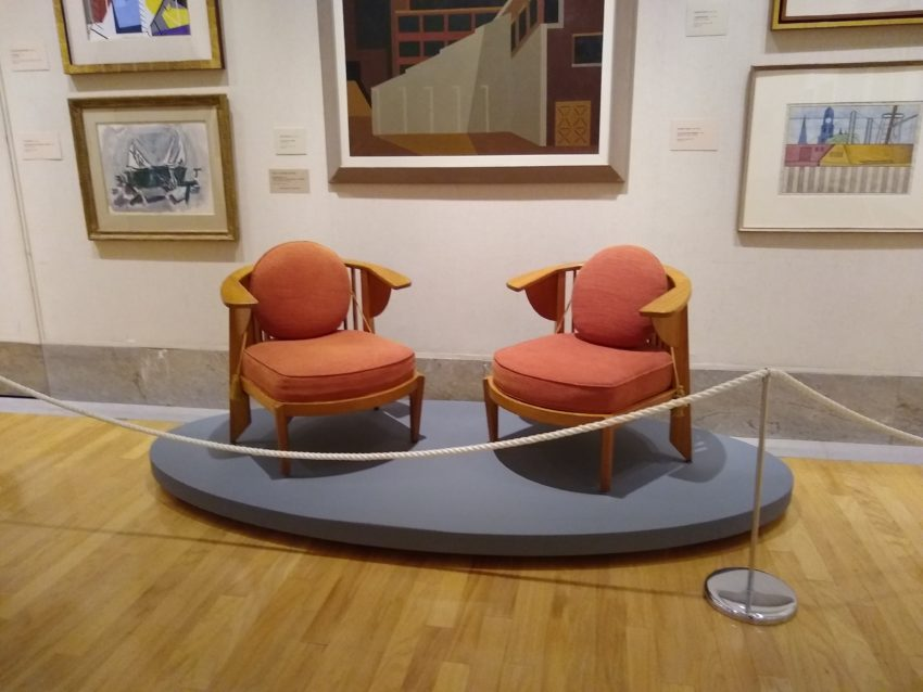 The Wright Pairing: Treatment Of Two Frank Lloyd Wright Chairs